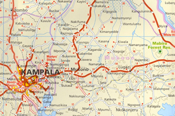 uganda-travel-road-map