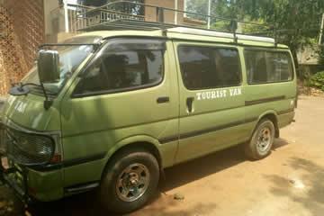 Safari van - Home